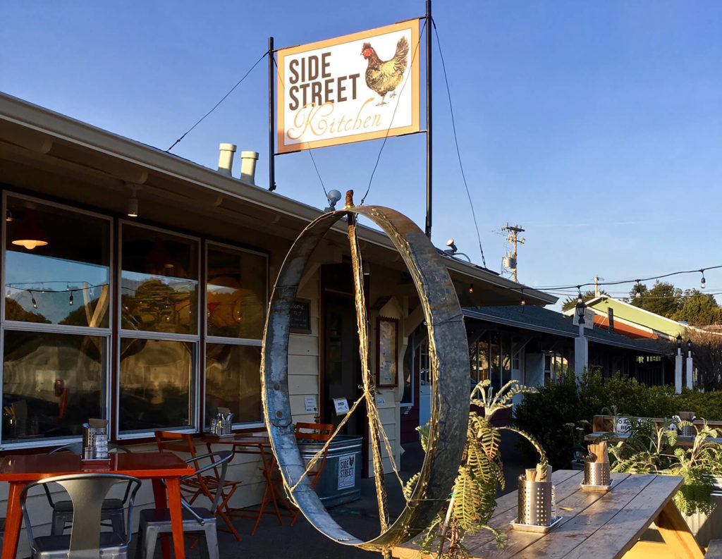 "Streetside Kitchen, Point Reyes Station, ""Great Marin County Hikes – Tule Elk Preserve."""