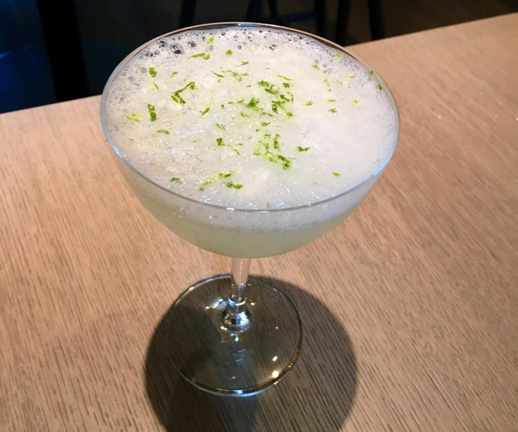 "Sea-salt foam and lime zest top the Margarita Las Alcobas, ""3 St. Helena Wineries with a Personal Touch."""