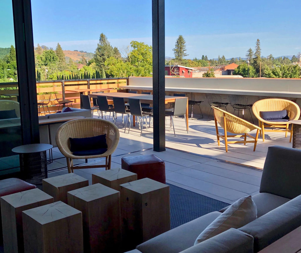 "The Rooftop Bar at Harmon Guest House, Healdsburg. ""Best Bars in Napa and Sonoma."""